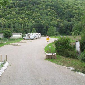 Aire de camping cars de Vieillevie