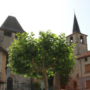 Village double de Saint-Santin