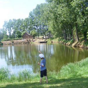 Plan d'eau «Le Pré des Etangs» – Cassaniouze