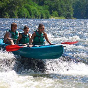 Descente accompagnée en kayak – Asvolt