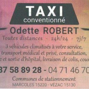 Taxi Conventionné ROBERT Odette