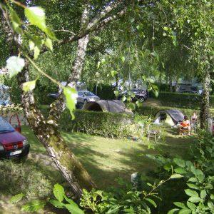 Camping du Viaduc à Pers