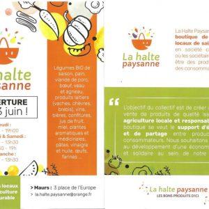 La Halte Paysanne – Boutique coopérative de produits locaux