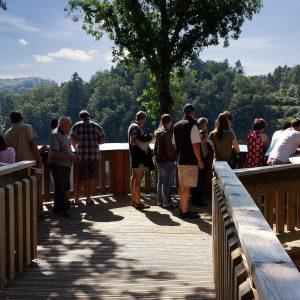 Journée Groupe : Barrage de Saint Etienne Cantalès