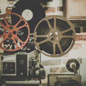 Soirée cinéma en pleine forêt à Cayrols