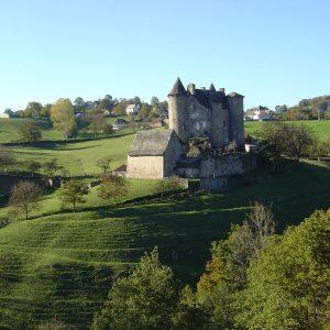 La Dame du Castel d'Auze