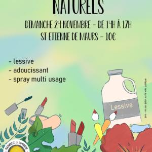 Fabrication de produits naturels à Saint-Étienne de Maurs