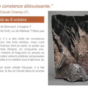 Exposition «Une constance éblouissante» au Don du Fel
