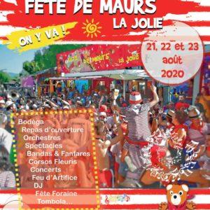 ANNULÉE – Fête de Maurs-la-Jolie