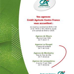 Crédit Agricole – Agence Montsalvy