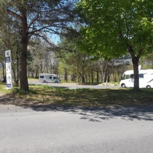 Aire de camping car Plage d'Espinet