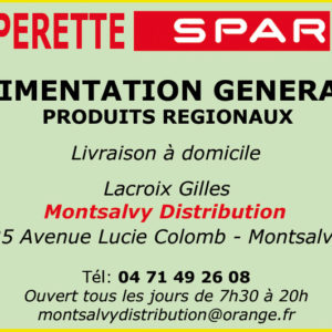 SPAR MONTSALVY DISTRIBUTION
