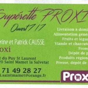 Supérette PROXI
