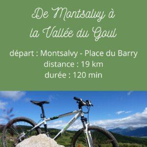Circuit VTT – De Montsalvy à la vallée du Goul
